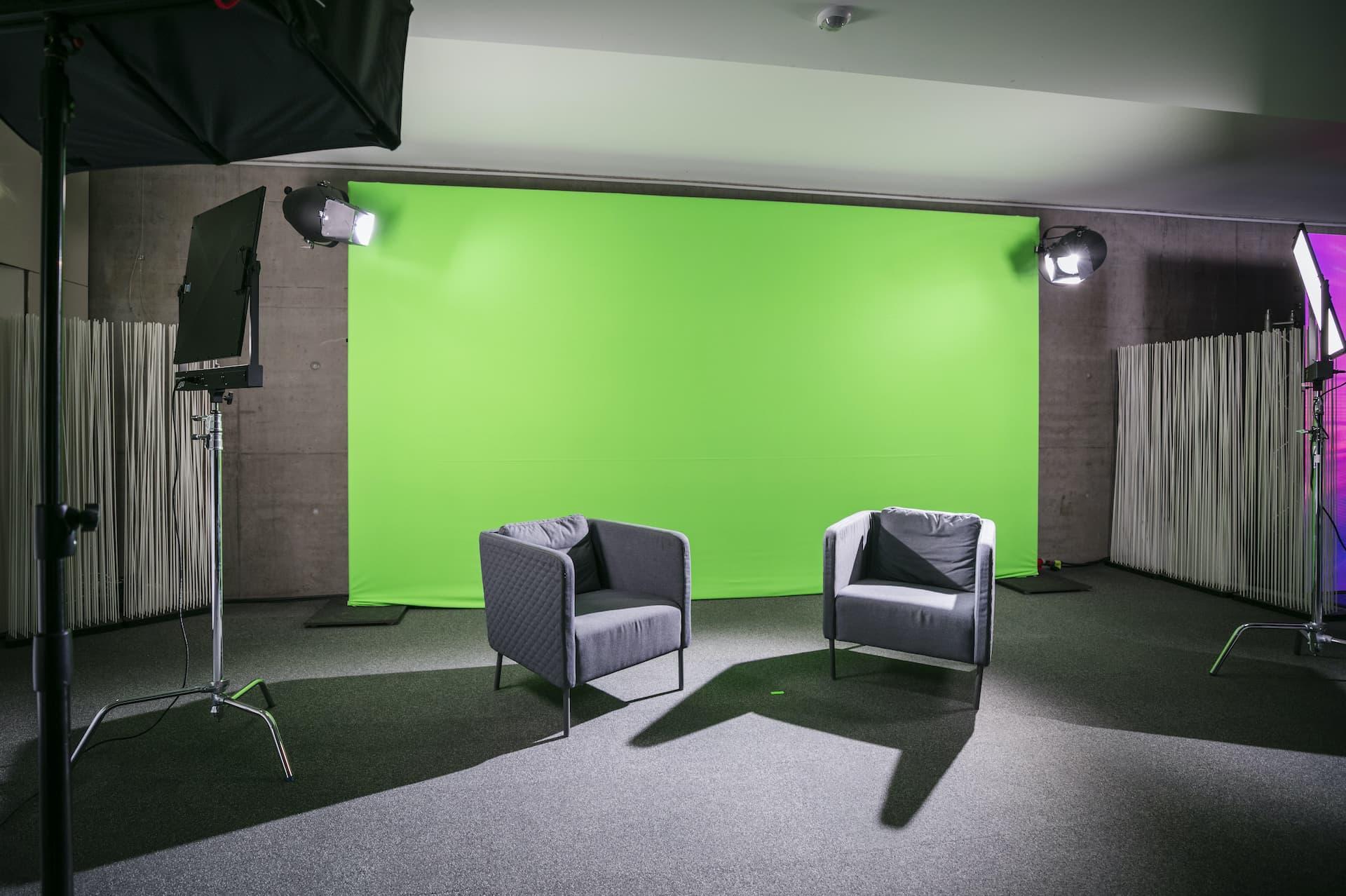11go4live Greenscreen Studio
